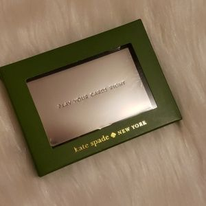 Kate Spade x Lenox Business Card Holder